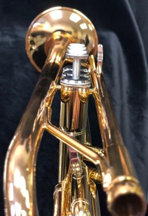 Yamaha Trumpet Down the Sights